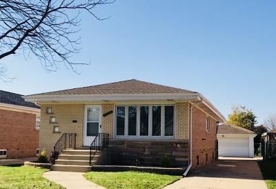 Norridge Single Family Home For Sale: 5036 North Denal Street