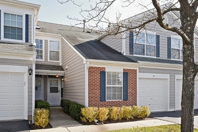 Streamwood Condo/Townhouse Contingent: 11 Taft Court #A