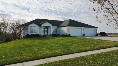 Hampshire Single Family Home For Sale: 1385 Pheasant Trail