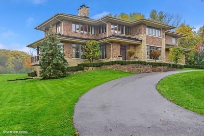 Burr Ridge Single Family Home For Sale: 8368 Arrowhead Farm Drive
