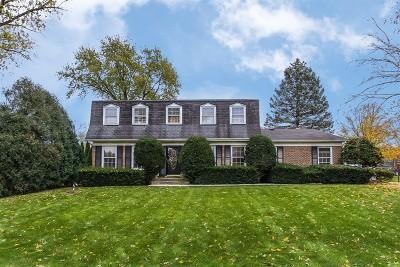 Wheaton Single Family Home For Sale: 2s341 Seneca Drive