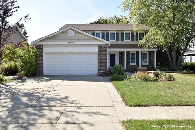 Hoffman Estates Single Family Home Contingent: 641 Wainsford Drive