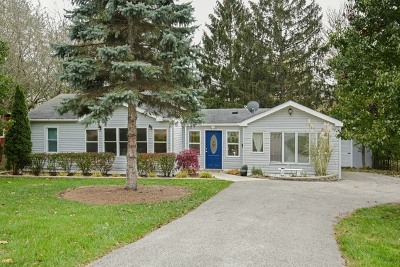 Algonquin Single Family Home For Sale: 1050 Wakigan Trail