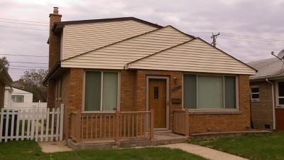 Evergreen Park Single Family Home For Sale: 10150 South California Avenue