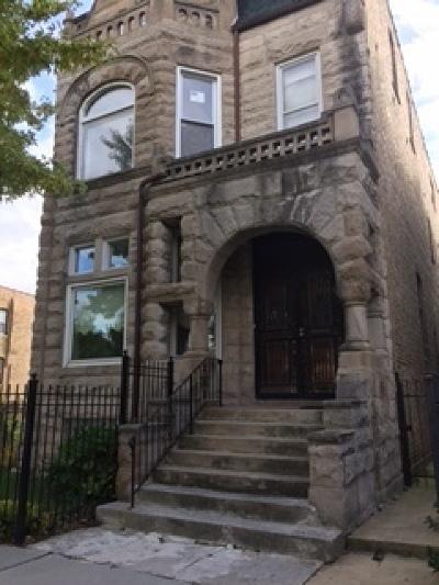 Chicago Single Family Home For Sale: 2933 West Washington Boulevard