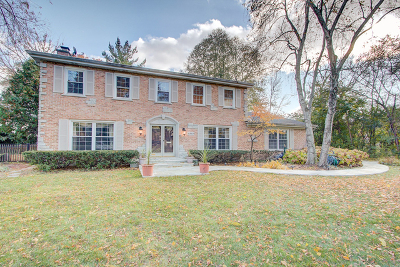 Libertyville Single Family Home For Sale: 1313 Crane Boulevard