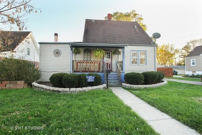 Tinley Park Single Family Home For Sale: 6921 167th Street