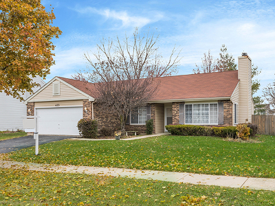 Carol Stream Single Family Home Contingent: 455 Yardley Drive