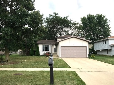 Carol Stream Single Family Home For Sale: 878 Shenandoah Drive