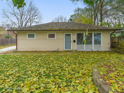 Wheaton Single Family Home For Sale: 1311 South Sumner Street