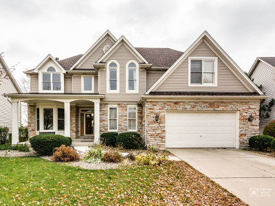 Aurora Single Family Home For Sale: 414 Saratoga Drive