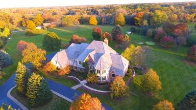 Barrington Hills Single Family Home For Sale: 18 Ridge Road