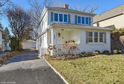 Highland Park Single Family Home For Sale: 1896 Clifton Avenue