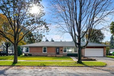 Skokie Single Family Home For Sale: 8156 Kenneth Avenue