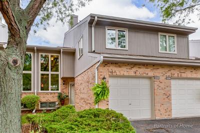 Glen Ellyn Condo/Townhouse For Sale: 22w116 Butterfield Road #6