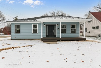 Bensenville Single Family Home New: 401 Barron Street