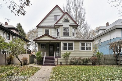 Oak Park Multi Family Home Contingent: 132 South Humphrey Avenue