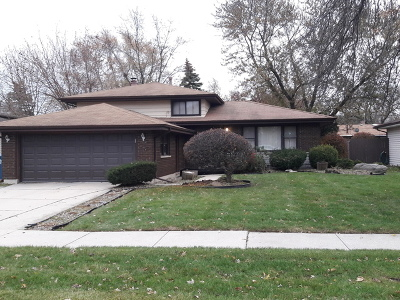 South Holland Single Family Home Contingent: 235 East 168 Th Place