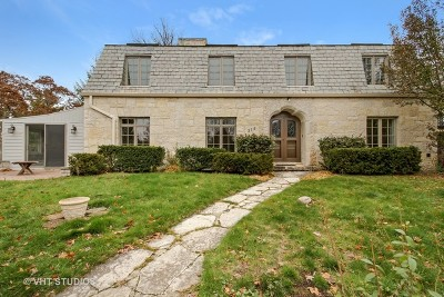 Winnetka Single Family Home For Sale: 318 Sunset Road