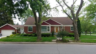 Evergreen Park Single Family Home For Sale: 10001 South Central Park Avenue