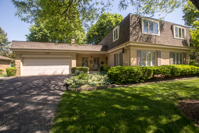 Wheaton Single Family Home For Sale: 159 East Thompson Drive