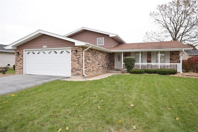 South Holland Single Family Home For Sale: 16701 Merrill Avenue