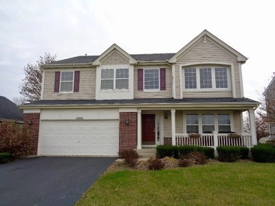 Plainfield Single Family Home New: 14905 Meadow Lane