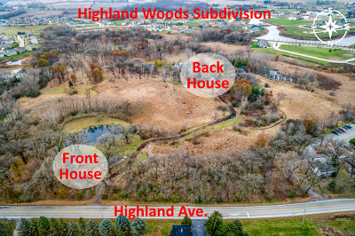 Elgin Residential Lots & Land New: Lot6 Highland Avenue
