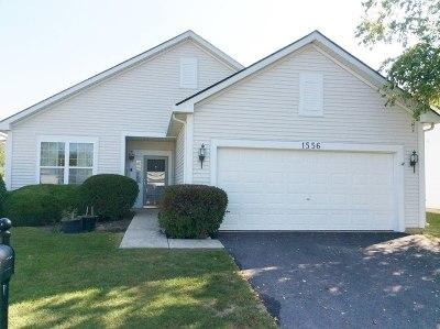 Romeoville Single Family Home New: 1556 Benzie Circle