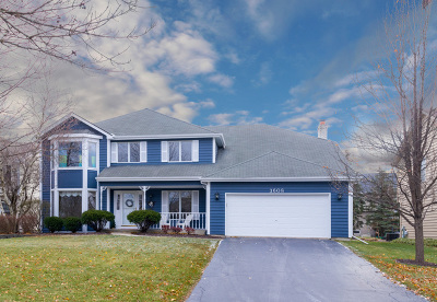 Naperville Single Family Home For Sale: 3608 Becket Lane