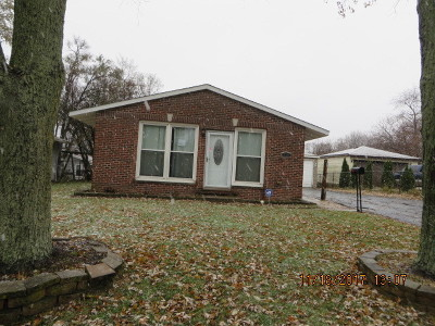 Carpentersville Single Family Home New: 719 Houston Drive