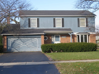 Lisle Single Family Home Contingent: 2604 Mark Carre Court
