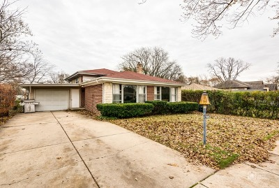 Skokie Single Family Home Re-Activated: 9527 Kostner Avenue
