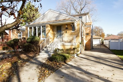 Evergreen Park Single Family Home For Sale: 9139 South Springfield Avenue