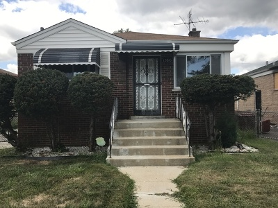 Calumet Park Single Family Home For Sale: 12816 South May Street