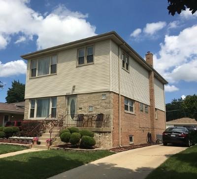 Alsip  Single Family Home For Sale: 12155 South Hamlin Avenue