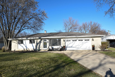 Hoffman Estates Single Family Home For Sale: 395 Pleasant Street