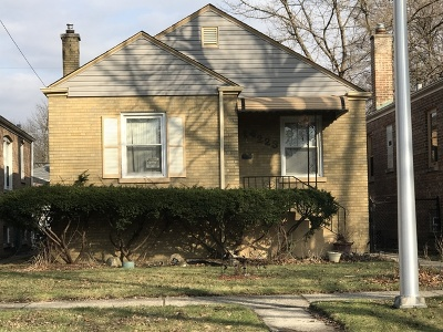 Single Family Home For Sale: 14223 South Wallace Avenue