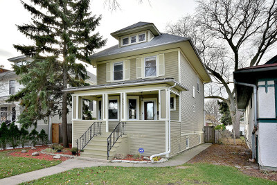 Oak Park Single Family Home Contingent: 1035 South Kenilworth Avenue