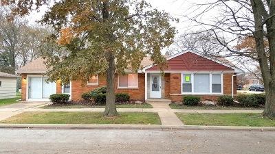 Evergreen Park Single Family Home For Sale: 8901 South Utica Avenue