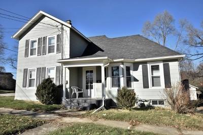 St. Charles Single Family Home Price Change: 704 Cedar Avenue