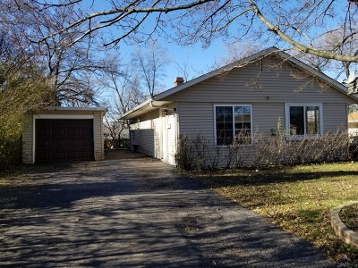 Carpentersville IL Single Family Home Listing Sold: $109,900