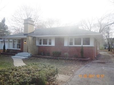 Flossmoor  Single Family Home For Sale: 2044 Collett Lane