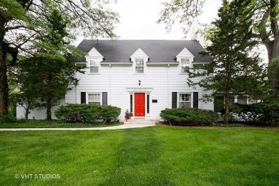 Flossmoor Single Family Home For Sale: 1307 Bunker Avenue