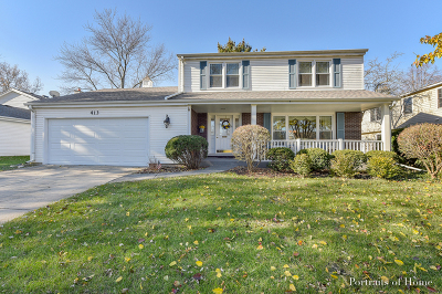 Single Family Home Re-Activated: 413 Green Valley Drive