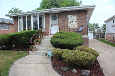 Evergreen Park Single Family Home For Sale: 9113 South Trumbull Avenue