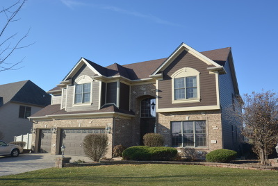 Plainfield Single Family Home For Sale: 27009 Ashgate Crossing