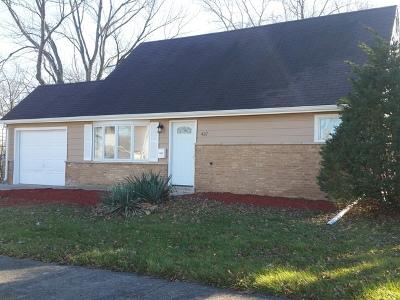 Park Forest Single Family Home For Sale: 437 Winnebago Street
