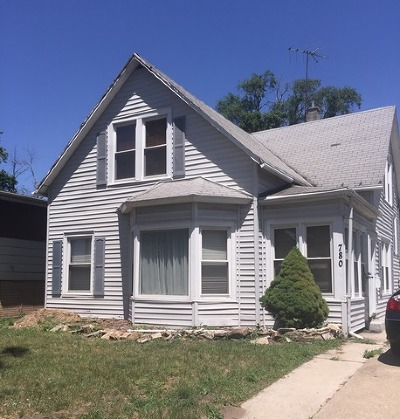 Dolton Single Family Home For Sale: 780 East Sibley Boulevard