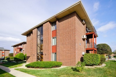 Oak Forest Condo/Townhouse For Sale: 15830 Terrace Drive #RO3